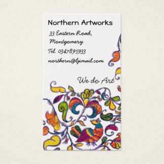 Northern Folk Birds Profile Card