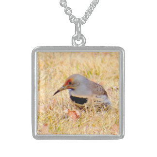 Northern Gilded Flicker Silver Necklace
