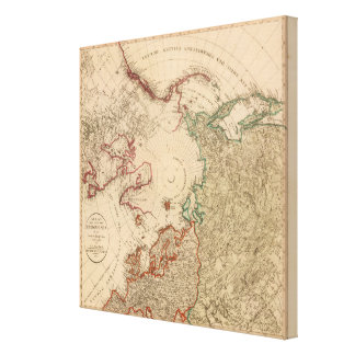 Northern Hemisphere Arctic Canvas Print