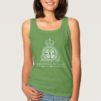 Northern Ireland - celtic ropework design Tank Top
