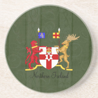 Northern Ireland Coat of Arms Coaster