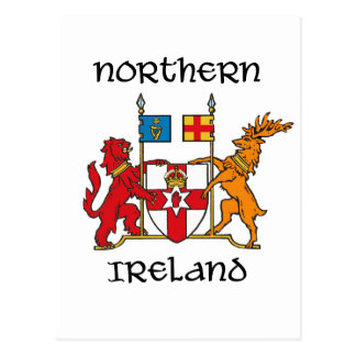 Northern Ireland - coat of arms/symbol/emblem Postcard
