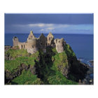 Northern Ireland, County Antrim, Dunluce Poster