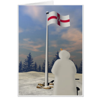Northern Ireland Flag Card