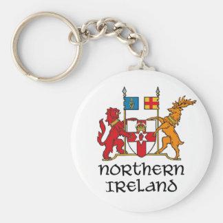 NORTHERN IRELAND - flag/coat of arms/emblem/symbol Basic Round Button Keychain