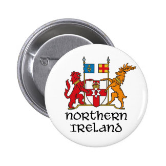 NORTHERN IRELAND - flag coat of arms emblem symbol Pinback Button