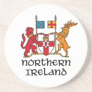 NORTHERN IRELAND - flag/coat of arms/emblem/symbol Drink Coaster