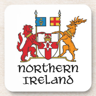 NORTHERN IRELAND - flag/coat of arms/emblem/symbol Beverage Coasters