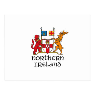 NORTHERN IRELAND - flag/coat of arms/emblem/symbol Postcard