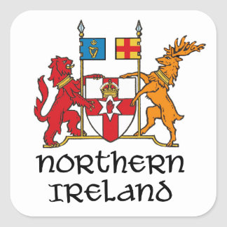 NORTHERN IRELAND - flag/coat of arms/emblem/symbol Square Sticker