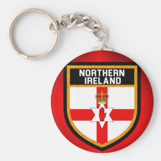 Northern Ireland Flag Keychain