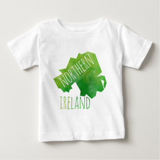 Northern Ireland Map Baby T-Shirt
