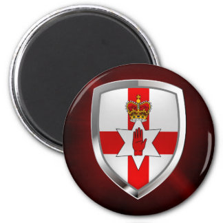 Northern Ireland Metallic Emblem Magnet