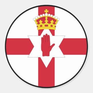 Northern Ireland Province of Ulster Euro Sticker