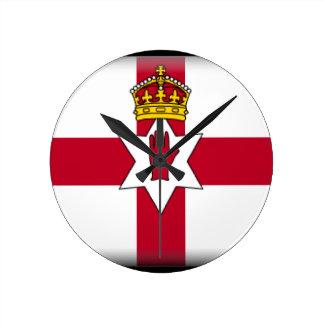 Northern Ireland (Ulster) Flag Wallclock