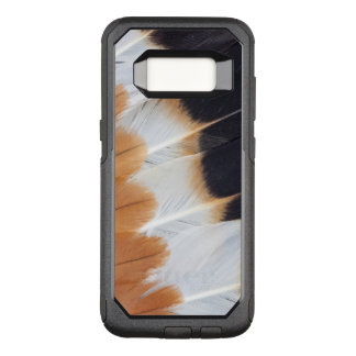 Northern Lapwing Feather Abstract OtterBox Commuter Samsung Galaxy S8 Case