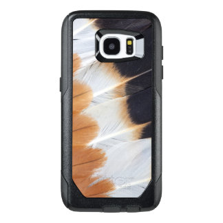 Northern Lapwing Feather Abstract OtterBox Samsung Galaxy S7 Edge Case