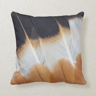 Northern Lapwing Feather Abstract Throw Pillow