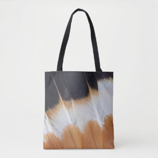 Northern Lapwing Feather Abstract Tote Bag
