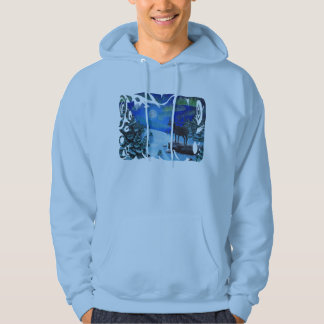 Northern Lights (9 image borders available) Hoodie