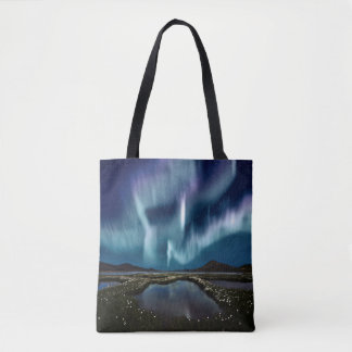 Northern Lights All-Over-Print Tote Bag
