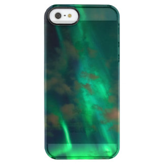 Northern Lights, Aurora Borealis Clear iPhone SE/5/5s Case