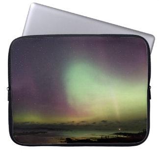 Northern lights (Aurora borealis) Laptop Sleeve