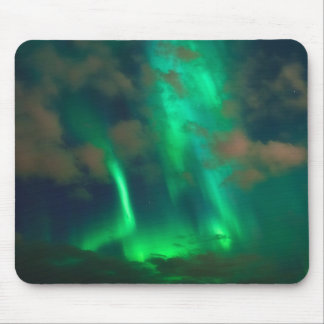 Northern Lights, Aurora Borealis Mouse Pad