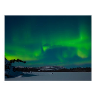 Northern Lights (Aurora borealis) Poster