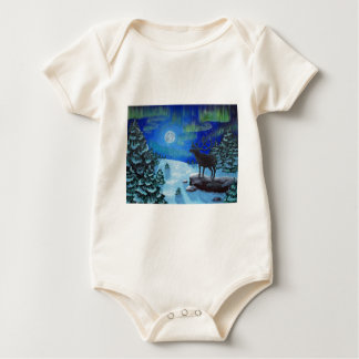 Northern Lights Baby Bodysuit