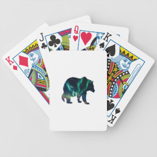 Northern Lights Bicycle Playing Cards