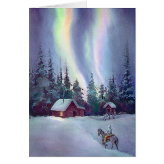 NORTHERN LIGHTS by SHARON SHARPE Card