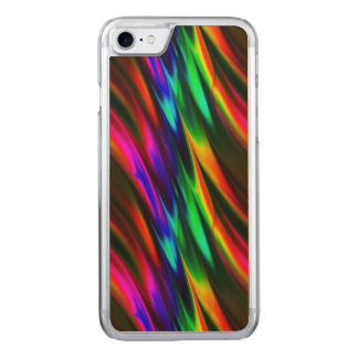 Northern Lights Carved iPhone 7 Case