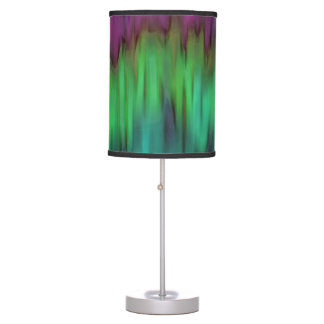 Northern Lights Colourful Abstract Table Lamp