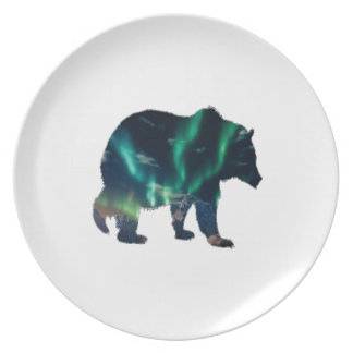 Northern Lights Dinner Plate