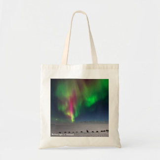 Northern Lights, Greenland - Budget Tote