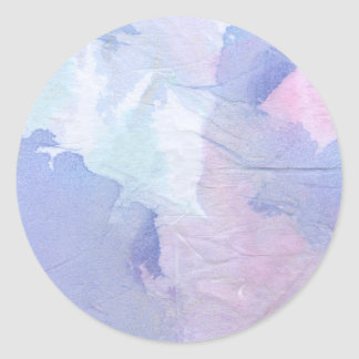 Northern Lights II Classic Round Sticker
