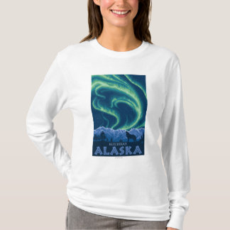 Northern Lights - Ketchikan, Alaska T-Shirt