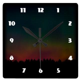 Northern Lights Landscape Clocks