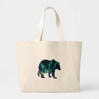 Northern Lights Large Tote Bag