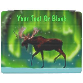 Northern Lights Moose iPad Cover