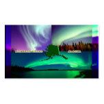 Northern Lights of Alaska Collage Pack Of Standard Business Cards