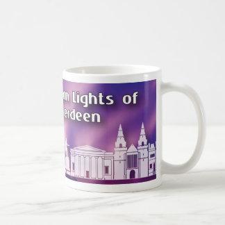 Northern Lights of old Aberdeen mug