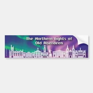 Northern Lights of Old Aberdeen Sticker