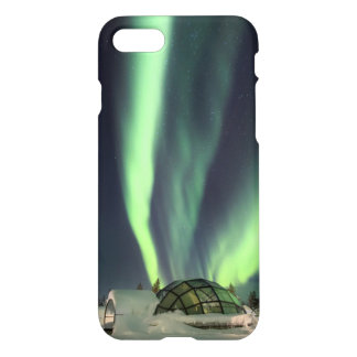 Northern Lights over Finland iPhone 7 Case