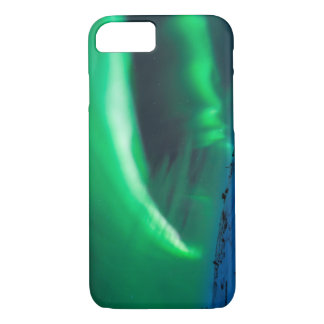 Northern Lights Over Mt Nuolja in Sweden iPhone 7 Case