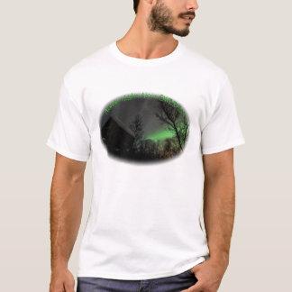 Northern Lights Over Sami Goathi T-Shirt