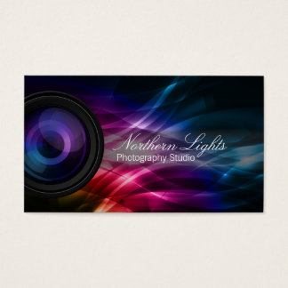 Northern Lights Photography Studio business card