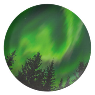 Northern Lights Plate