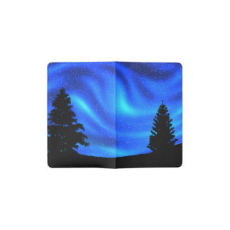 Northern Lights Pocket Moleskine Notebook